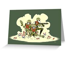 Robot Army Greeting Card
