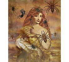 Spider Bite Photographic Print