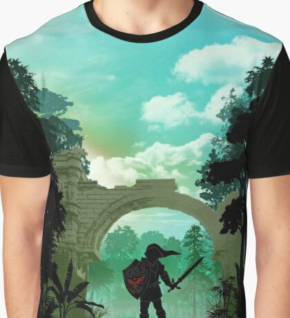 Legend of Zelda - Link Graphic T-Shirt