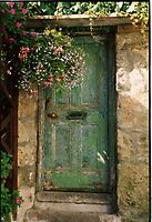 Old Green Door by Clare McClelland