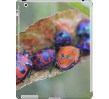 Friends in the garden - jewel bugs iPad Case/Skin