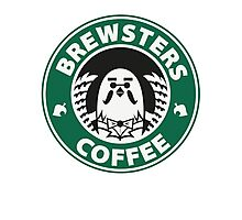 Brewsters Coffee Photographic Print
