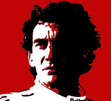 Ayrton Senna - portrait. pop art. by Ximoc
