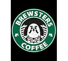 Brewsters Coffee (distressed) Photographic Print