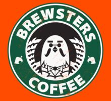 Brewsters Coffee (distressed) Kids Clothes