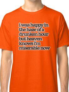 The Smiths Song Lyrics Classic T-Shirt