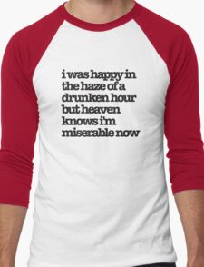 The Smiths Song Lyrics Men's Baseball ¾ T-Shirt