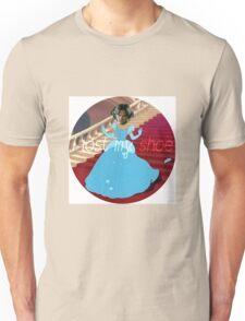 "Supernatural Sammy ""i lost my shoe"" Ciderella Edit (with quote) Unisex T-Shirt"