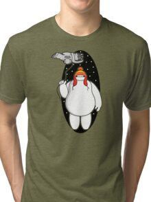 Big Shiny Hero Tri-blend T-Shirt