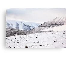 First Snow Svalbard 3 Canvas Print