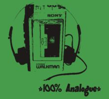 Analogue Walkman by betelnut