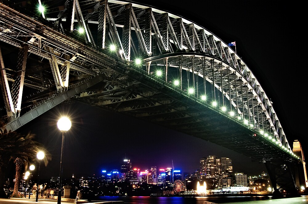 Sydney Harbour Bridge by Nathan T