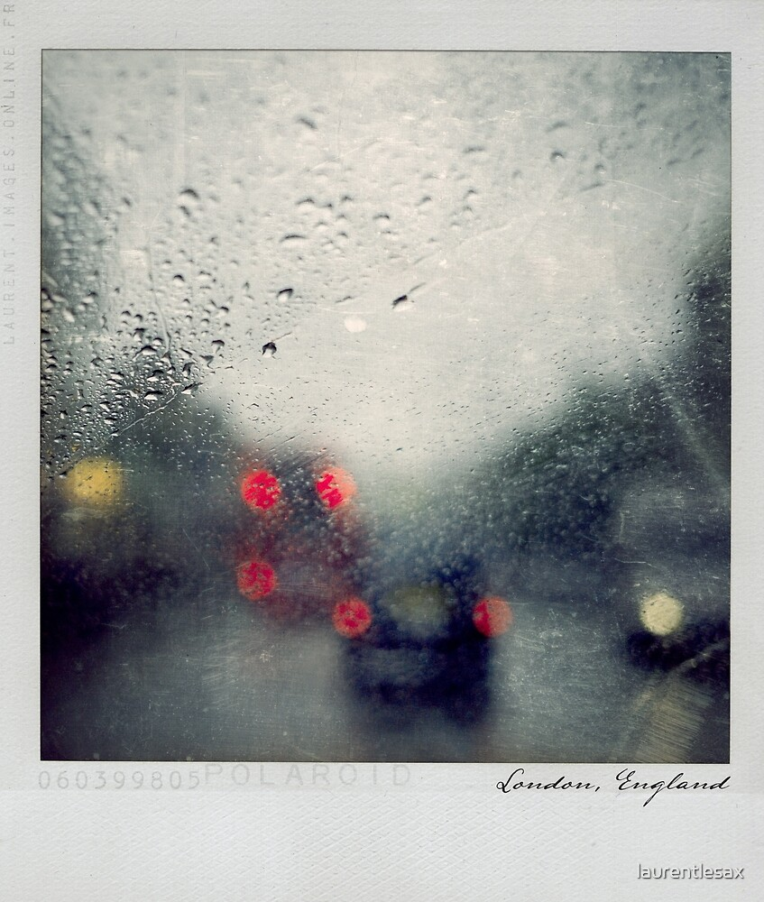 Rain Polaroïd by Laurent Hunziker