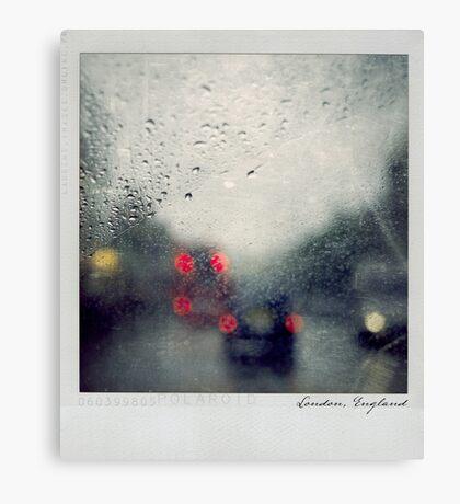 Rain Polaroïd Canvas Print