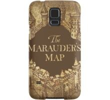 Distressed Maps: Harry Potter Marauder's Map Samsung Galaxy Case/Skin