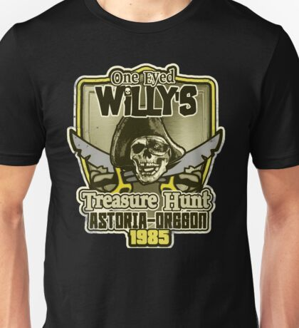Willy's Treasure Hunt Unisex T-Shirt