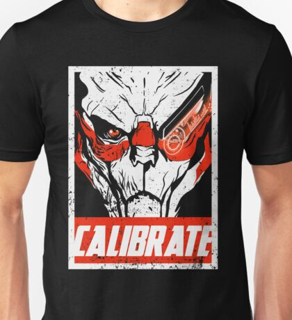 Calibrate like a Vakarian Unisex T-Shirt