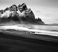 Black Sandy Beach by Dean Bailey