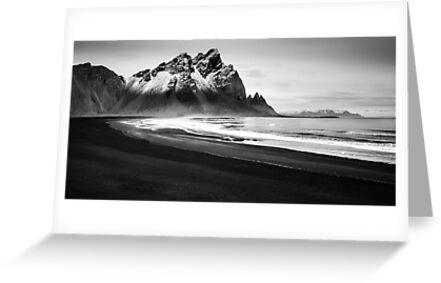 Black Sandy Beach by Dean Bailey