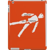 Anatomy of a cyberman iPad Case/Skin