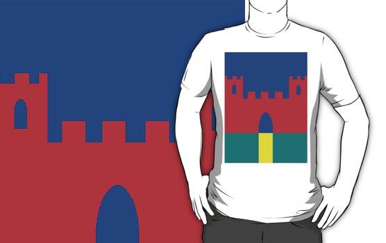 Castle Tee by rufflesal