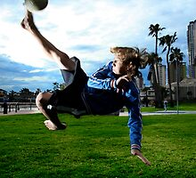 Soccer Superstar Jake by asensio