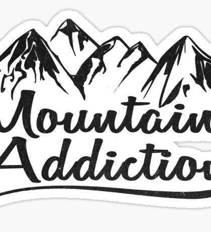 Mountain Addiction. Sticker