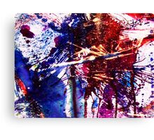 America Abstracted Canvas Print