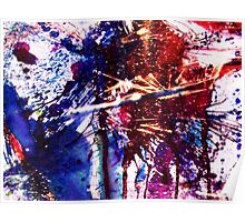 America Abstracted Poster
