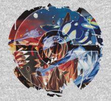 Groudon VS Kyogre - Primal Hoenn Battle Kids Tee