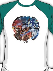 Pokemon - Groudon VS Kyogre - Primal Hoenn Battle T-Shirt