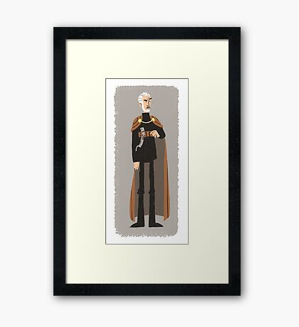 Count Dooku Framed Print