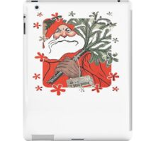 Wishing You A Very Merry Christmas Greeting Card iPad Case/Skin