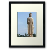 Buddha Statue - Sri Lanka Framed Print