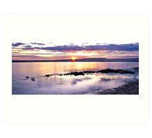 Sunrise, Hunters Creek, Cape Leveque Art Print