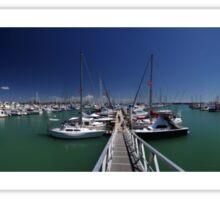 Keppel Bay Marina. Sticker