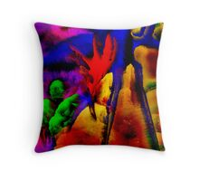 Rorschach's Dilemma Throw Pillow