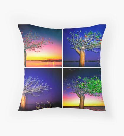 The Four Seasons Throw Pillow