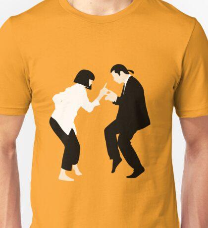 Pulp Fiction // Jack Rabbit Slim's Restaurant Dance Scene // Unique Minimalist Design Unisex T-Shirt