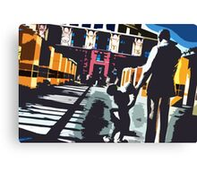 Welcome to Legends Plaza Canvas Print