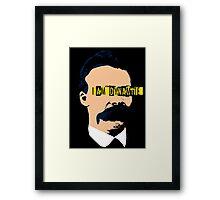 Pop Nietzsche Framed Print