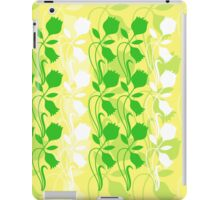 Layered Floral Silhouette Print (8 of 8 please see notes) iPad Case/Skin