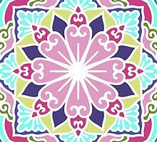 Ethnic Ornament With Mandala by magicmandala