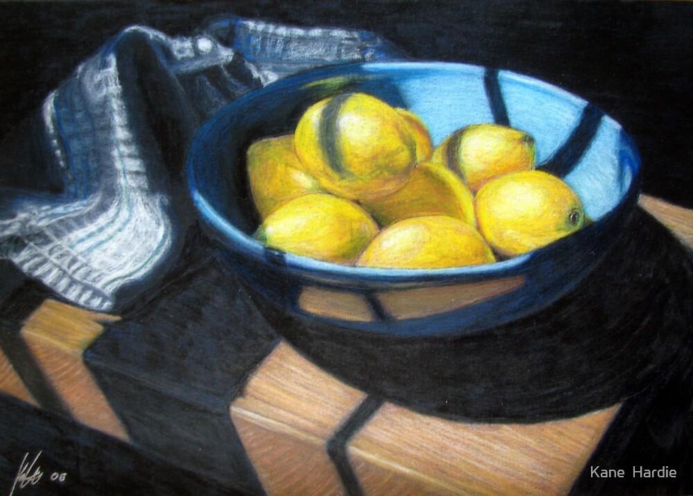 Bowl of Lemons by Kane  Hardie