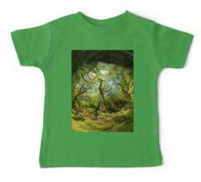 Ness Glen, Mystical Irish Wood Baby Tee