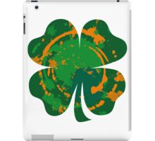 Cool Lucky clover and Ink Nr. 03 iPad Case/Skin