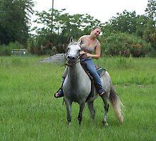 HORSE BACK by ALLEN GREEN
