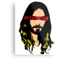 J. Christ from L.A. Metal Print