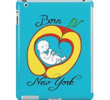 Born in New York iPad Case/Skin