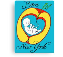 Born in New York Canvas Print